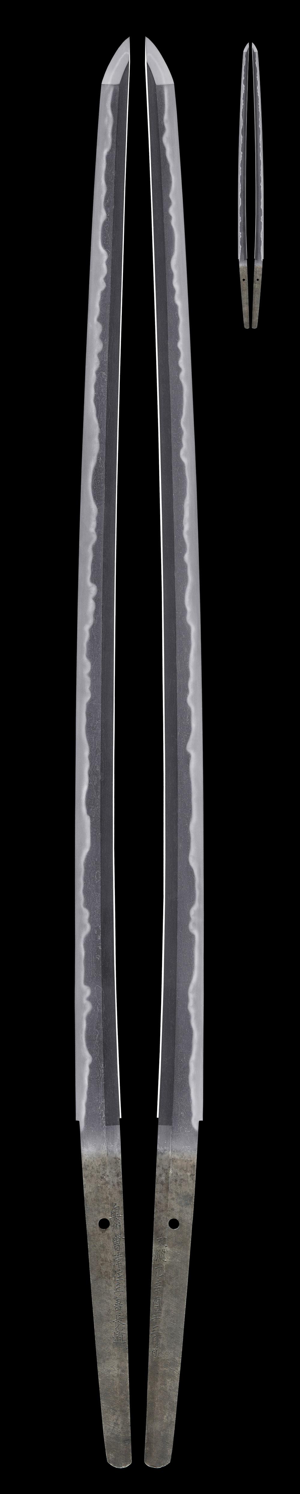 日本刀販売・通販・刀剣のサムライ商会TOPに戻る 日本刀・刀剣 |...  文久元辛酉年三月日